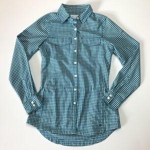 Columbia Tops - columbia shirt tunic drawstring waist button up